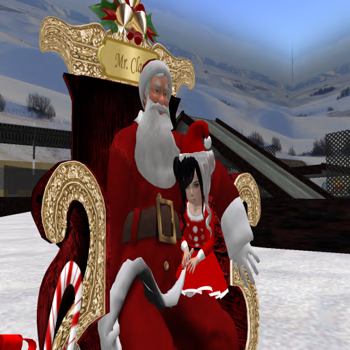 Saphire Juneberry & Santa @ Winter Carnival