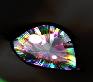 Rainbow Mystic Quartz Eye