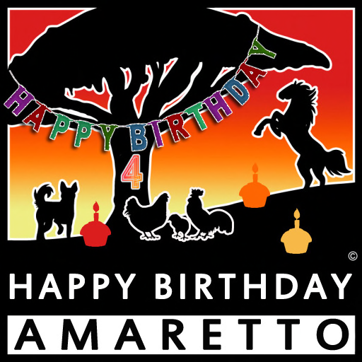 Happy4thBirthdayAmaretto
