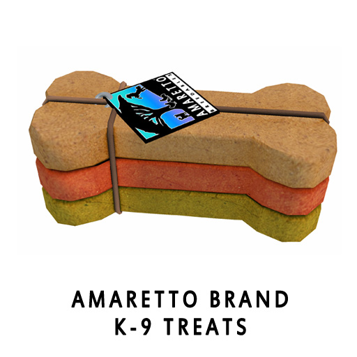 Amaretto Brand K-9 Treats