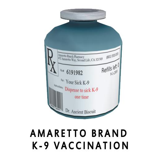 Amaretto Brand K-9 Vaccination