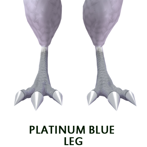 Platinum Blue leg