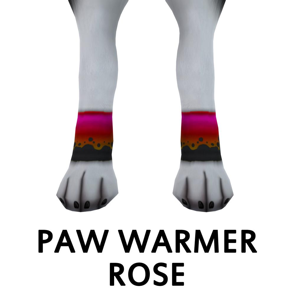 PawWarmerRose