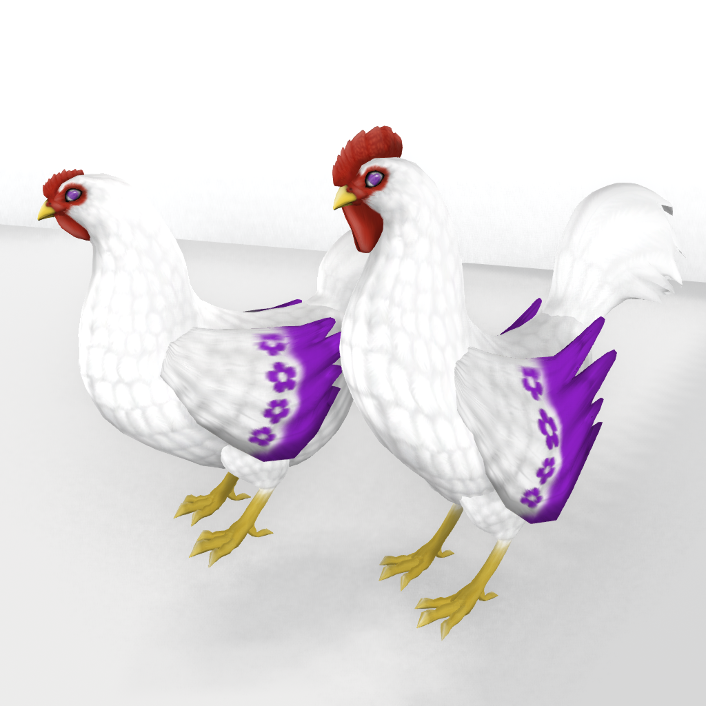 Purple Mother's Day CE Hidden Wing Tip Trait Rooster Example_001