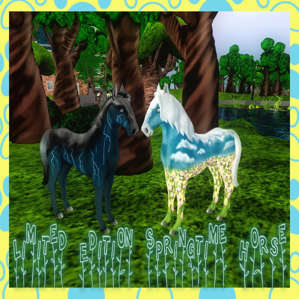 LE Springtime Horse