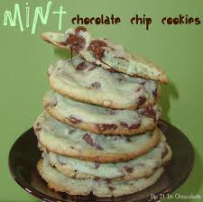 (4) Mint Chocolate Chip Cookies