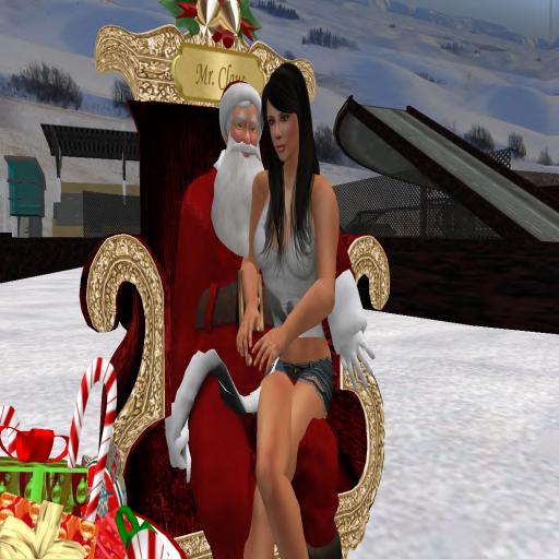 Janielayne & Santa @ Winter Carnival