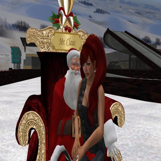 Josie & Santa @ Winter Carnival