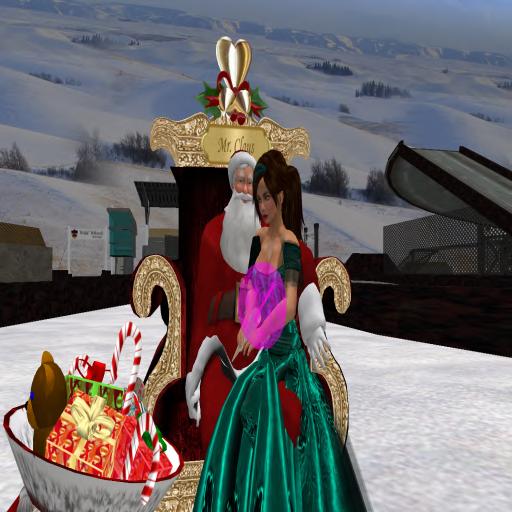 Roe Milena & Santa @ Winter Carnival
