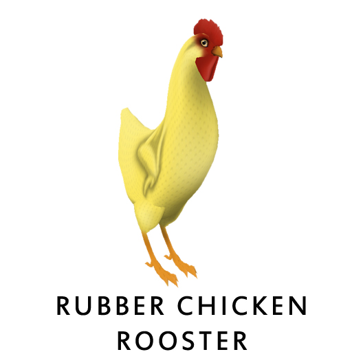Rubber_ChickenRooster