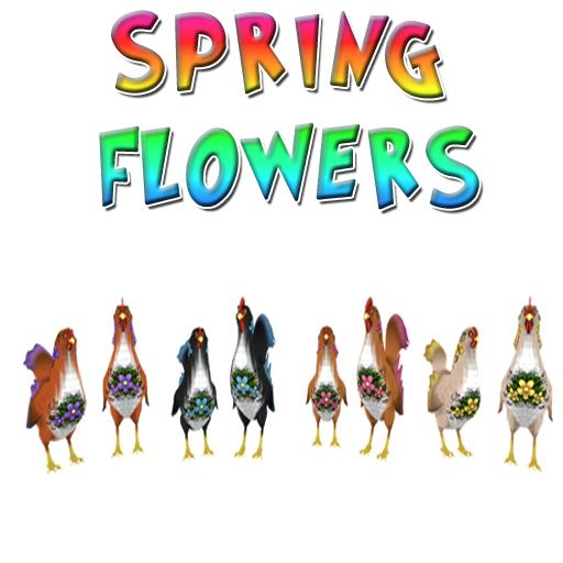 SpringFlowersBirds