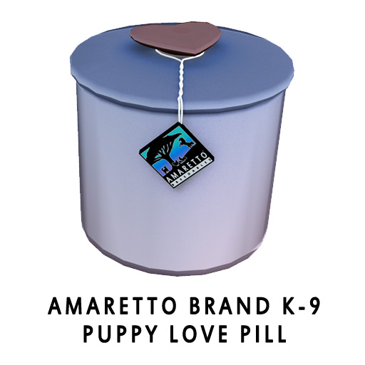 Amaretto Brand K-9 Puppy Love Pill
