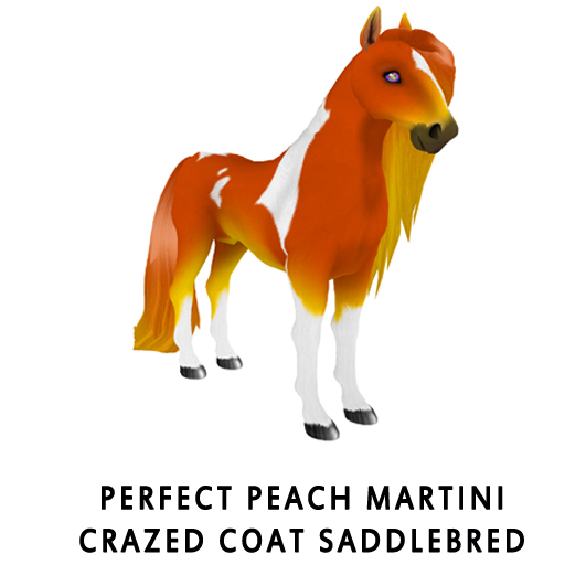 PerfectPeachMartiniCrazed_Coat_Saddlebred