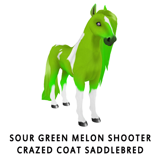 Sour_Green_Melon_ShooterCrazed_Coat_Saddlebred