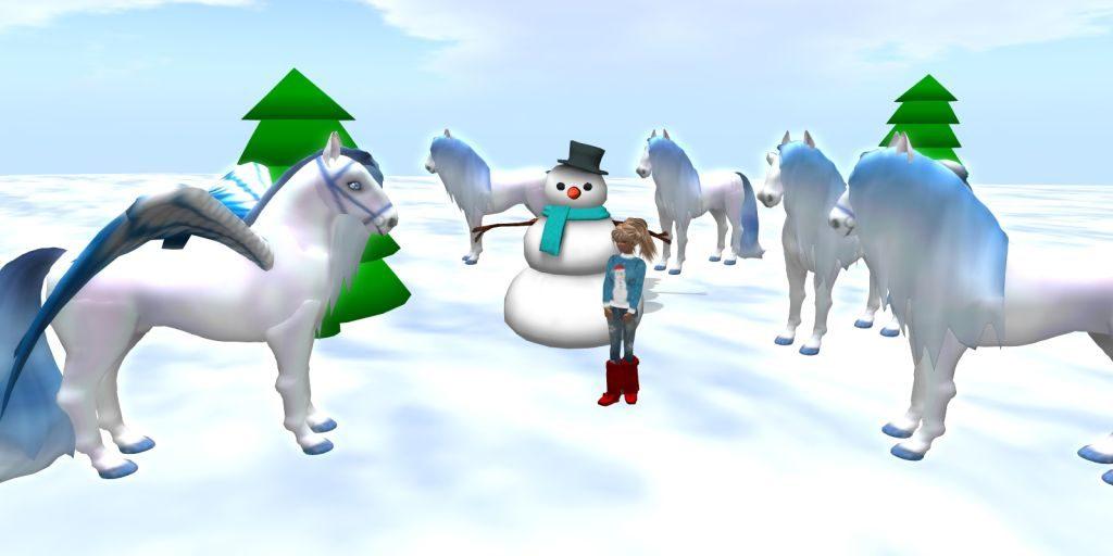 crystal glasswing Snowflake Horses