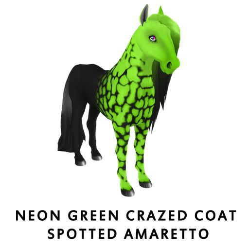 NeonGreenCrazed_Coat_Spotted_Amaretto