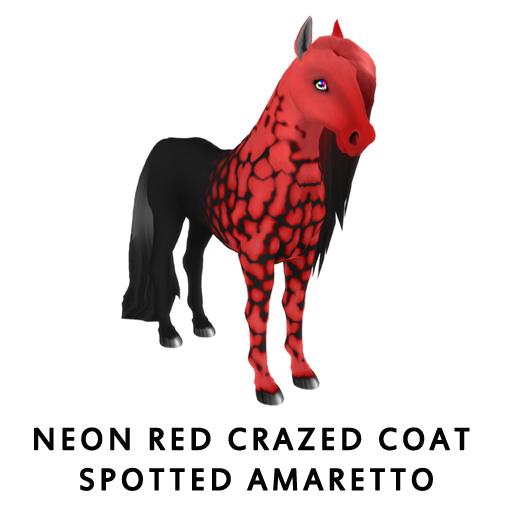 Neon_Red_Crazed_Coat_Spotted_Amaretto