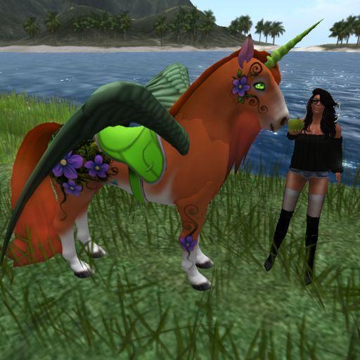 SF Flaming Orchid green Treats crazy3