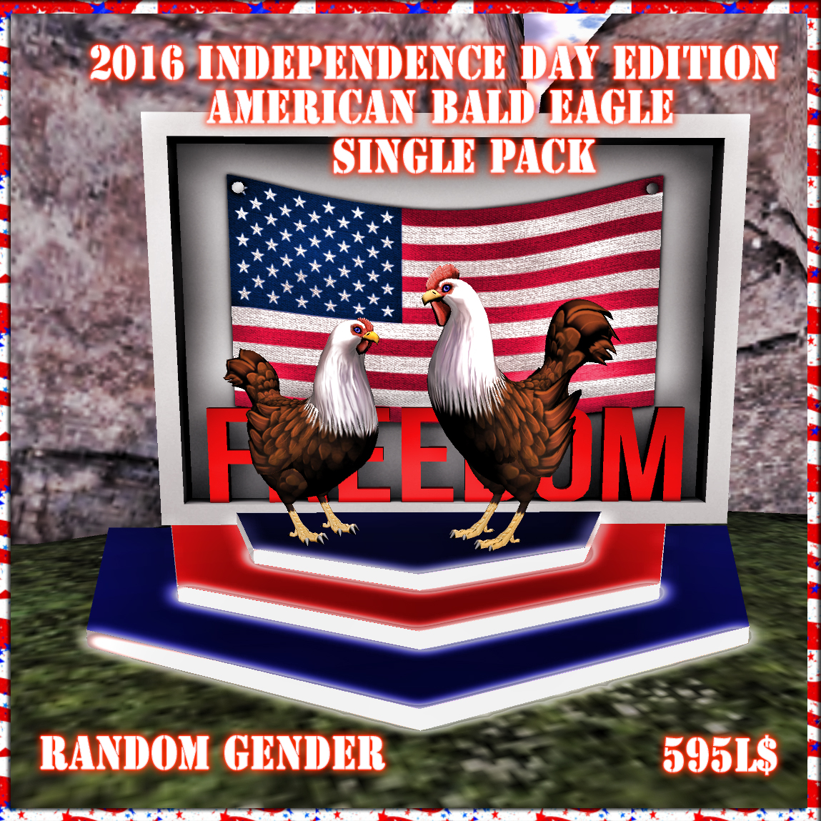2016 Independence Day Edition American Bald EagleBB